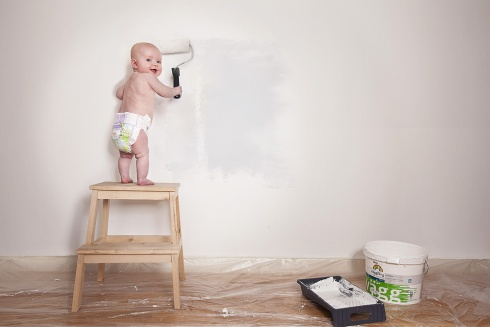baby house painter