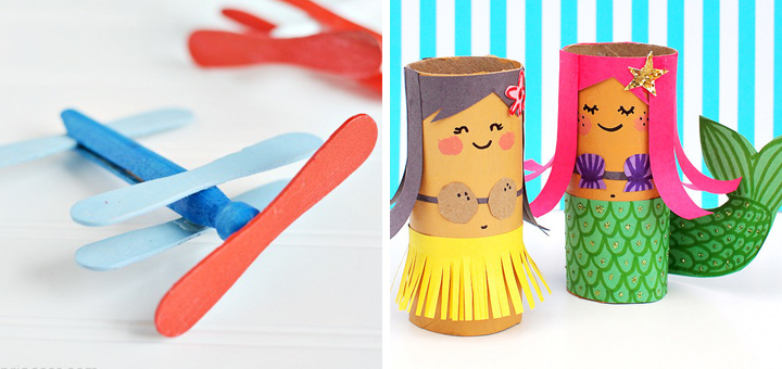 11 Adorable Diy Kids Crafts For This Summer
