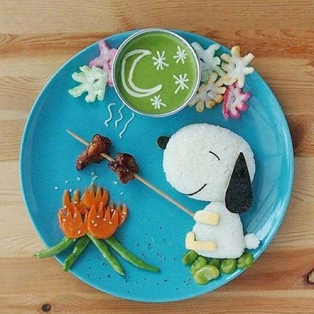 snoopy food