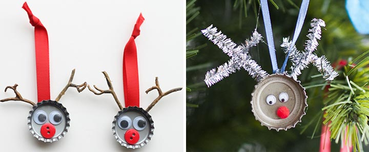 bottle-cap-reindeer
